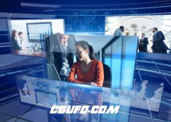 团购1期公司企业大气奢华企业宣传片展示动画AE模版企业公司宣传视频素材