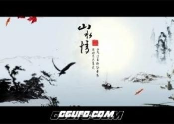 年费VIP专享水墨风格中国梦包装片头动画AE模版