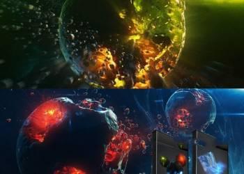 年费VIP专享Element 3D大气宇宙星球破碎星云雾气4K E3D模型包+3集使用教程 Win/Mac