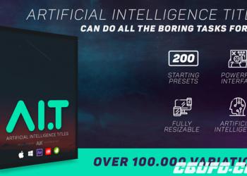 VIP专享9699AE脚本-人工智能响应式文字排版设计图文字幕条动画+官网视频教程 完美破解版