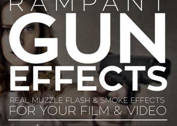 年费VIP专享326组真实开枪火焰枪口闪光烟雾5K高清视频素材