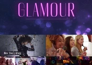 年费VIP专享120组时尚奢华粒子背景包装4K高清视频素材