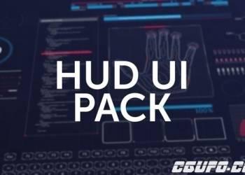 年费VIP专享AE模板-180组HUD UI界面高科技科幻屏幕动画元素