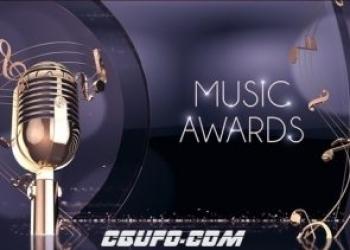 独家VIP专享12270音乐晚会音乐盛典颁奖典礼视频包装AE模版,Music Awards