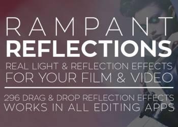 年费VIP专享296组镜头反光逆光漏光折射光效叠加4K视频素材