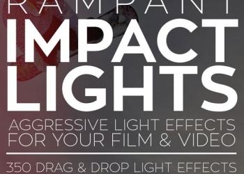 年费VIP专享350组灯光闪烁光效叠加4K视频素材