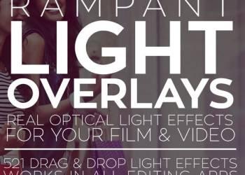 年费VIP专享521组唯美浪漫镜头漏光光效叠加4K视频素材