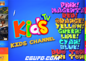 全网独家12994儿童卡通电视栏目包装动画AE模版,Kids And Family Channel Broadcast Graphics Package