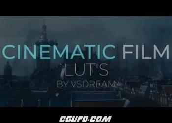 15个电影胶片质感视频调色LUTS预设(FCPX/达芬奇/AE/Pr/PS)