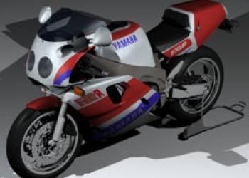 雅马哈摩托车模型 YAMAHA FZR 750R模型