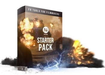 184个闪电电流火焰爆炸坍塌烟雾流星特效合成视频素材