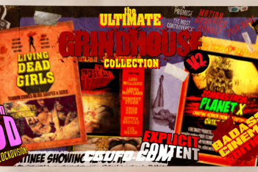 2671文字特效标题动画AE模版,The Ultimate Grindhouse Collection V2