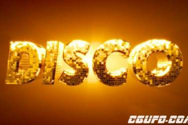 时尚闪烁三维文字动画C4D教程 Cinema 4D – Creating a Disco Ball Type Tutorial