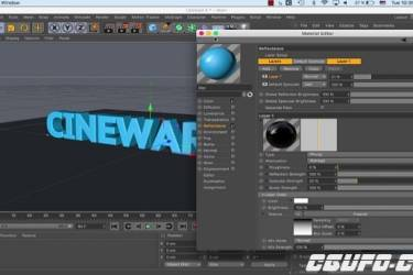 AE桥接C4D教程 Cinema 4D : Cineware in After Effect