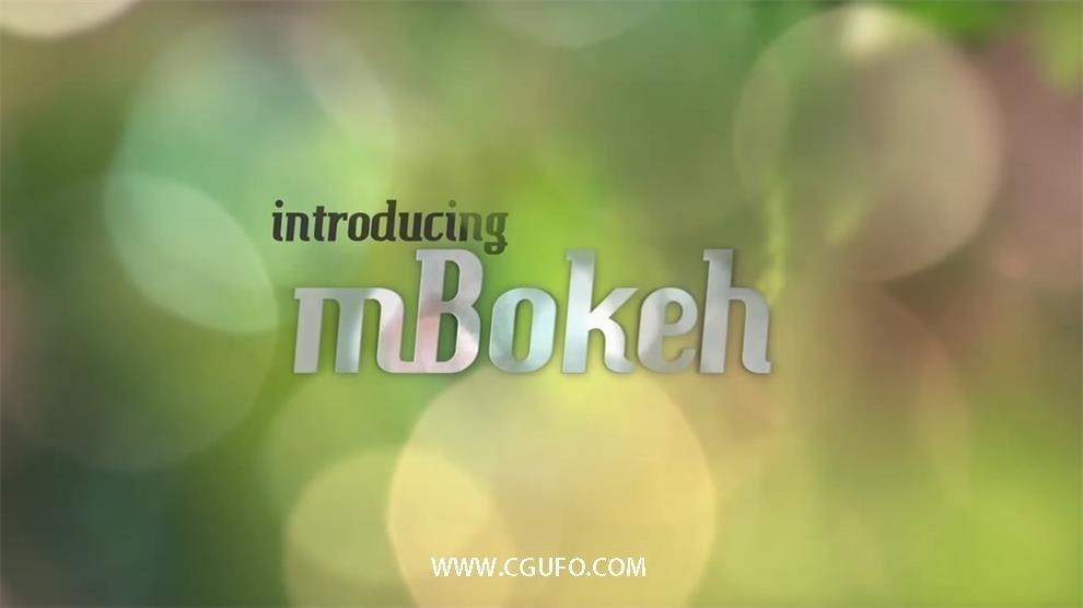 2K高清精美混合背景视频素材合辑,100 Organic 2K Bokeh(MotionVFX)