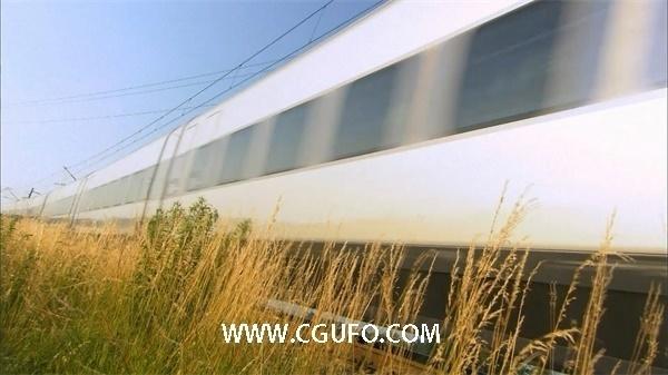 1059火车高铁高清实拍视频素材