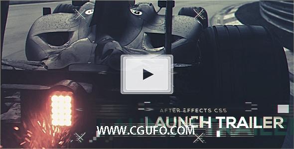5745汽车宣传片动画AE模版,Launch Trailer