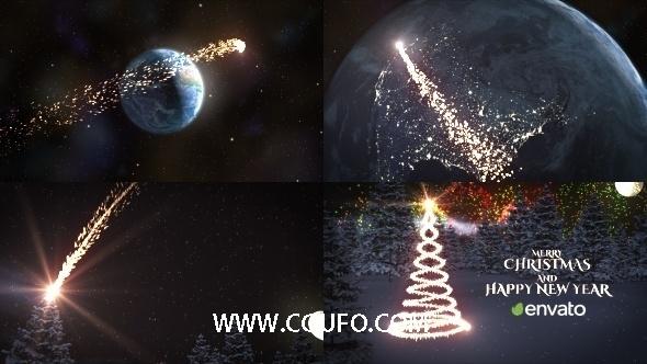 5932圣诞节动画AE模版,Christmas