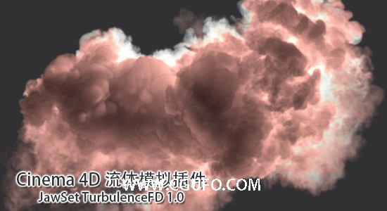 Win/Mac版:Cinema 4D 流体模拟插件 TurbulenceFD C4D v1.0.1419