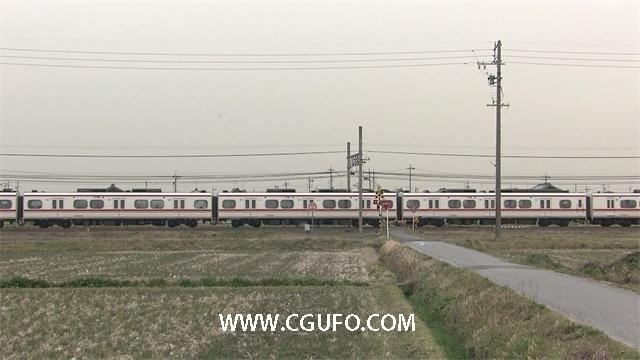 1420火车高清实拍视频素材
