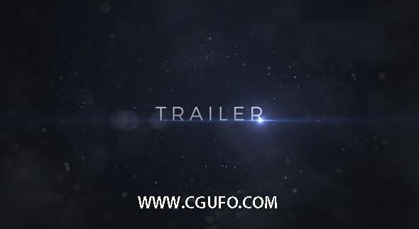 6018震撼史诗文字标题动画AE模版,Trailer