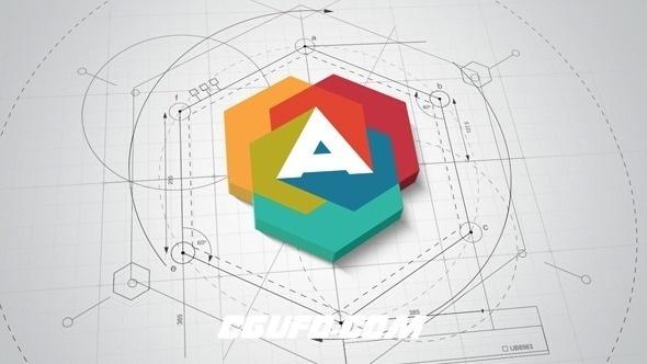 6058建筑logo演绎动画AE模版,Architect Logo Reveal