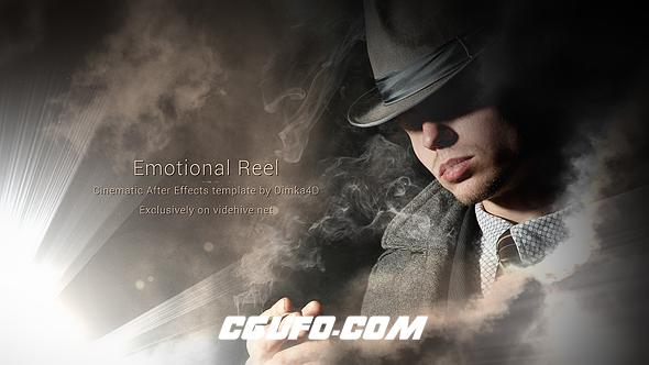 6096人物简介包装动画AE模版,Emotional Reel