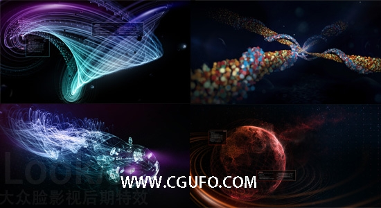 AE插件:节点式三维粒子特效插件破解版 Superluminal Stardust 0.9.4