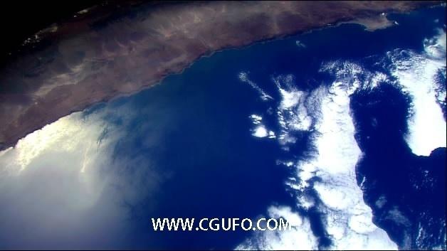 1989-从太空中拍地球7高清实拍视频素材