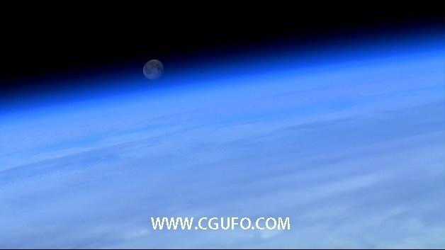 1990-从太空中拍地球8高清实拍视频素材