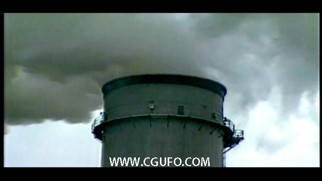 1991-大烟囱冒烟1(污染源)高清实拍视频素材