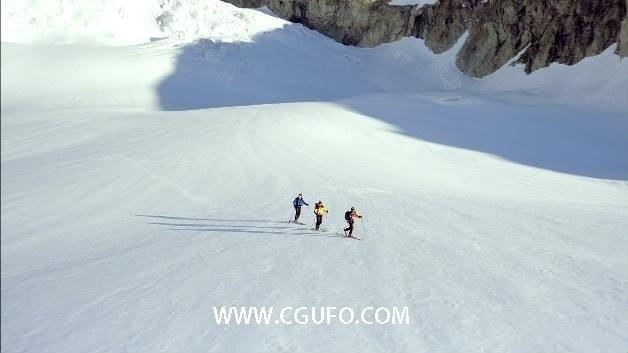 1993-登山一组1高清实拍视频素材