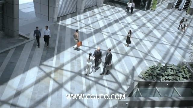 2051商务空间高清实拍视频素材