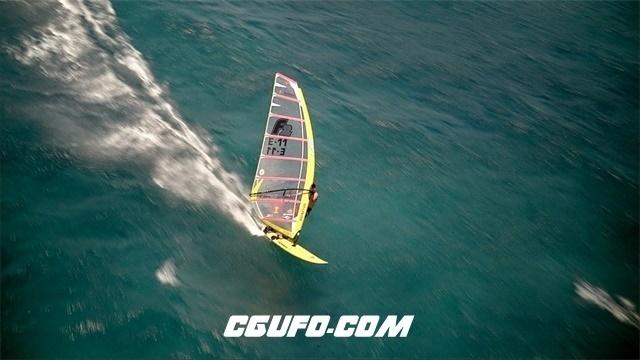 2069-极限运动-海上帆船高清实拍视频素材