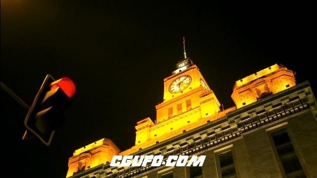 2085-上海城市景2(快速)高清实拍视频素材