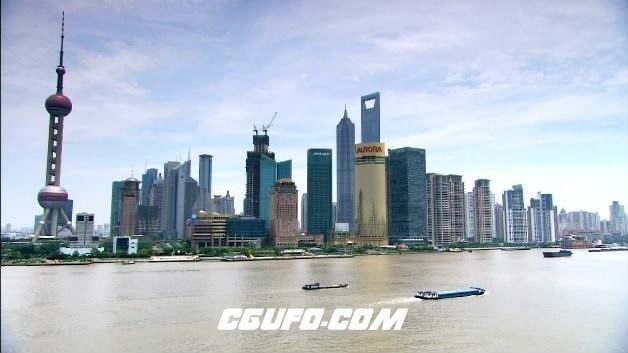 2091-上海东方明珠04高清实拍视频素材