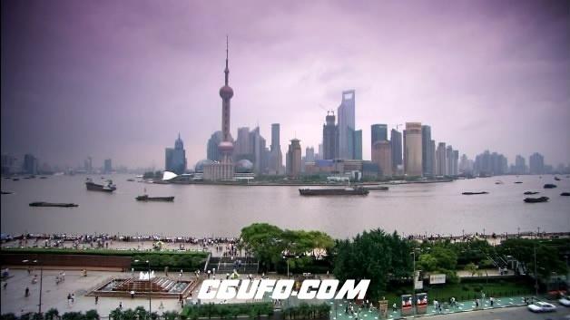 2093-上海东方明珠06高清实拍视频素材