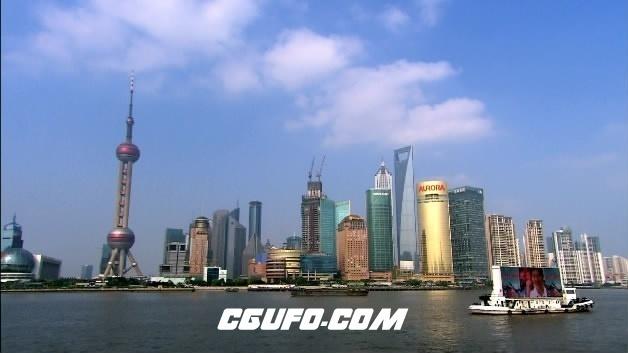2094-上海东方明珠07(快速)高清实拍视频素材