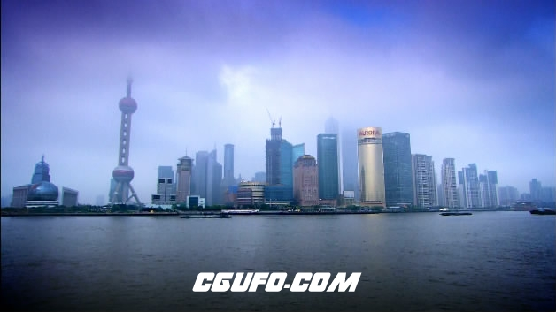 2095-上海东方明珠08(快速)高清实拍视频素材