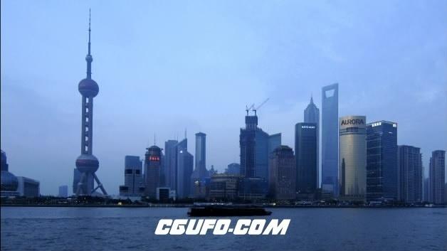 2096-上海东方明珠09(快速)高清实拍视频素材