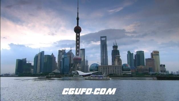 2097-上海东方明珠10(快速)高清实拍视频素材