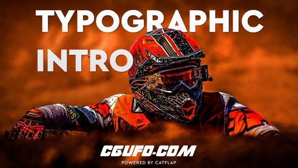 6169图片视频文字包装特效动画AE模版,Just A Typo – Typography Intro