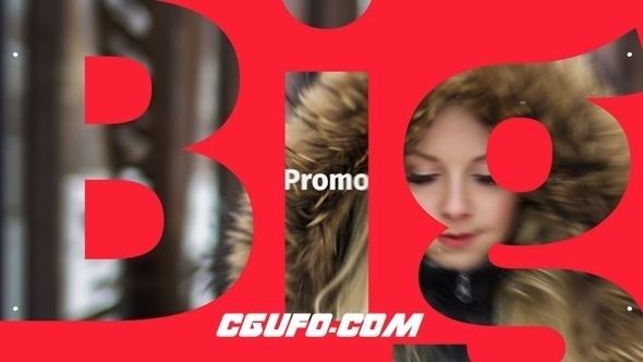 6201创意促销文字宣传动画AE模版,Typography Promo