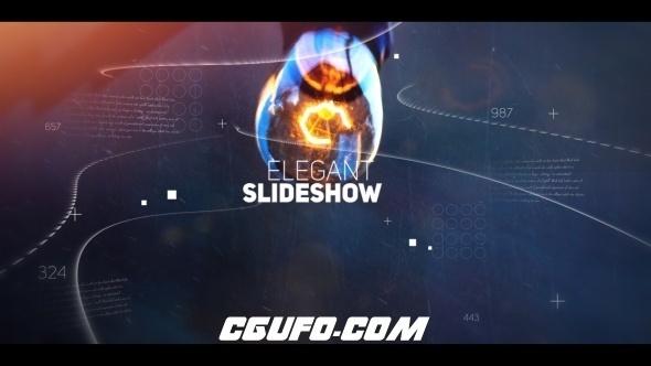 6245震撼大气图文展示动画AE模版,Epic Slideshow