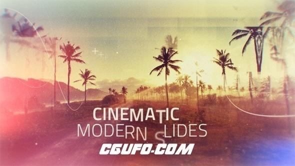 6261电影包装图片文字特效动画AE模版,Cinematic Modern Slides