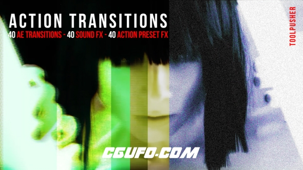 6265开场动画转场特效动画AE模版,Action Transitions Pack