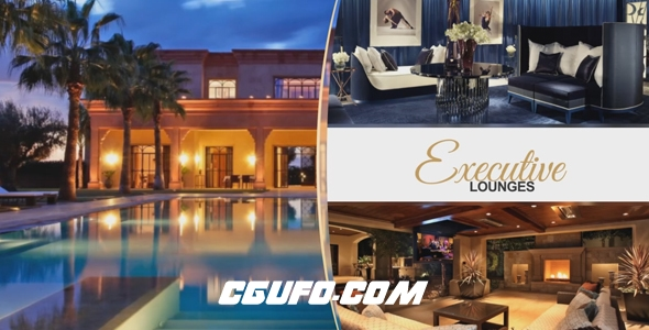 6298酒店旅馆宣传视频动画AE模版,Resort Luxury Slides