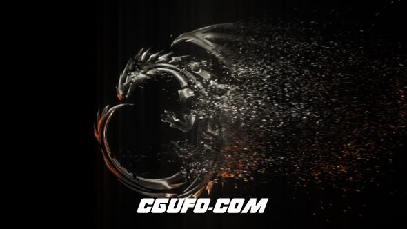6302简洁粒子logo演绎动画AE模版,Simple Promo