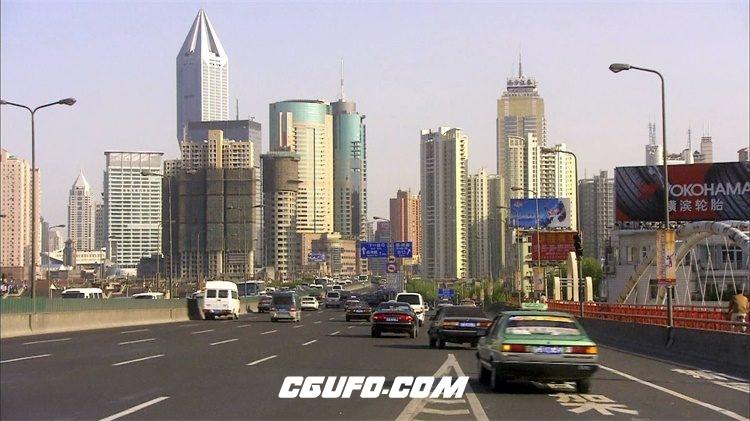 2103上海街景2高清实拍视频素材