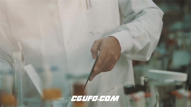 2781-医学研究科学美容产品分析生产制造形象宣传高清视频实拍